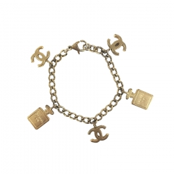 Chanel Armband mit Charms