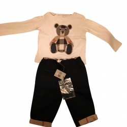 Burberry Kids Set Pull & Pantalon