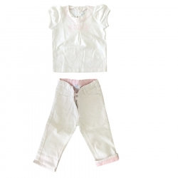 Jacadi Set - Top u. Hose