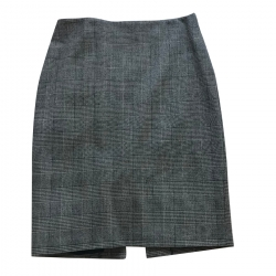 Marella Checked Skirt