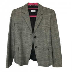 Marella Checked Blazer (Prince of Wales)