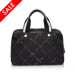 Chanel ON SALE!!! Old Travel Mini Boston Bag