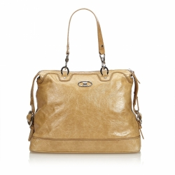 Céline Patent Leather Handbag