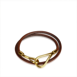 Hermès Jumbo Hook Double Tour Bracelet