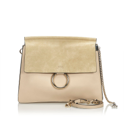 Chloé Suede Faye Shoulder Bag