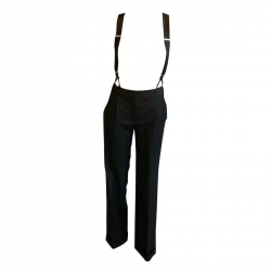 Christian Dior Trousers with suspenders