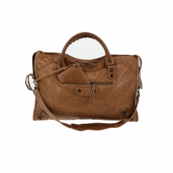 Balenciaga Brown City Bag
