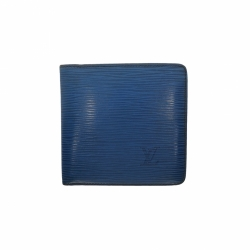 Louis Vuitton Blue Slender Man Wallet