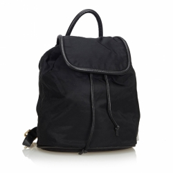 Céline Nylon Drawstring Backpack