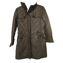 Weekend Max Mara Quilted Long Jacket