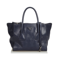 Prada ON SALE!!! Leather Twin Pocket Satchel