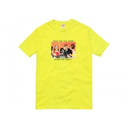 Supreme Orgy Bright Yellow Tee