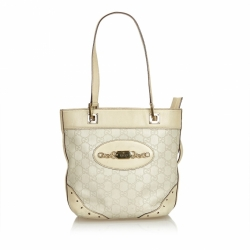 Gucci ssima Punch Tote Bag