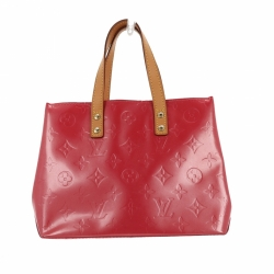 Louis Vuitton Pink Monogram Patent Reade PM bag