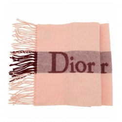 Christian Dior Dior Wool and cashmere scarf