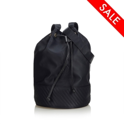 Yves Saint Laurent Nylon Drawstring Bucket Bag