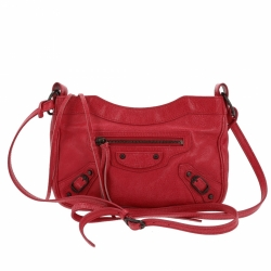 "Balenciaga ""Rouge ambre"" Hip Bag"
