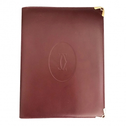 Cartier Vintage Notebook Cover