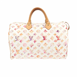 Louis Vuitton Speedy 35 Bag Watercolor Aquarelle
