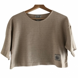 Pringle Of Scotland Cotton Crop Top