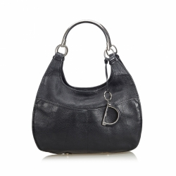 Christian Dior Leather Hobo Bag