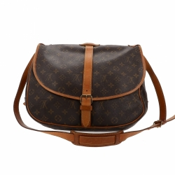 Louis Vuitton Monogram Saumur bag 35