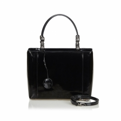 Christian Dior Malice Patent Leather Satchel