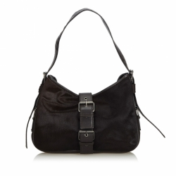 Yves Saint Laurent Pony Hair Shoulder Bag