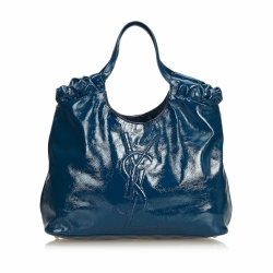Yves Saint Laurent Belle de Jour Patent Leather Tote Bag