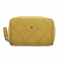 Chanel Mini Zippy Wallet Yellow