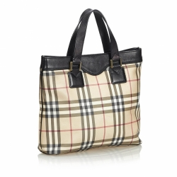 Burberry House Check Tote Bag