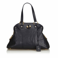 Yves Saint Laurent Leather Muse Handbag
