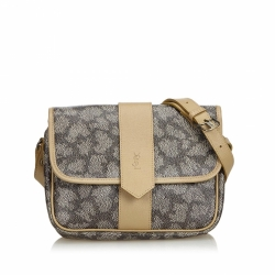 Yves Saint Laurent Coated Canvas Crossbody Bag
