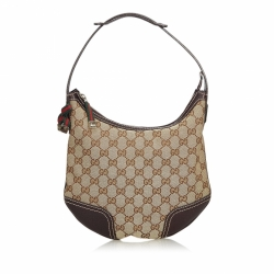 Gucci GG Canvas Web Princy Shoulder Bag