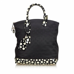 Louis Vuitton Monogram Satin Lockit Vertical MM Yayoi Kusama Dots Infinity