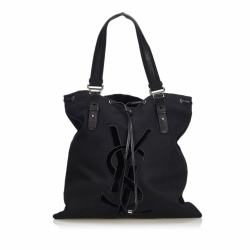 Yves Saint Laurent Canvas Kahala Tote