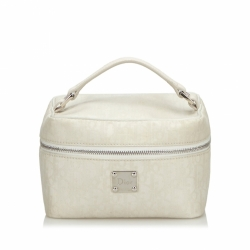 Christian Dior Dior Oblique Canvas Vanity Bag