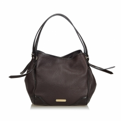 Burberry Leather Bilmore Shoulder Bag