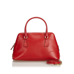 Prada Leather Dome Satchel