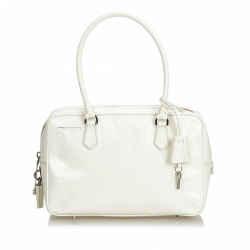 Prada Leather Bauletto Handbag