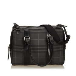 Burberry Nova Check Briefcase