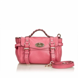 Mulberry Leather Alexa Satchel