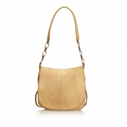 Yves Saint Laurent Nubuck Shoulder Bag