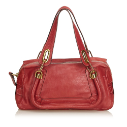 Chloé Leather Paraty Handbag