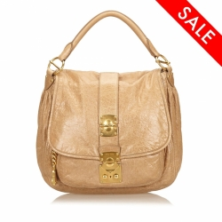Miu Miu ON SALE!!! Leather Shoulder Bag