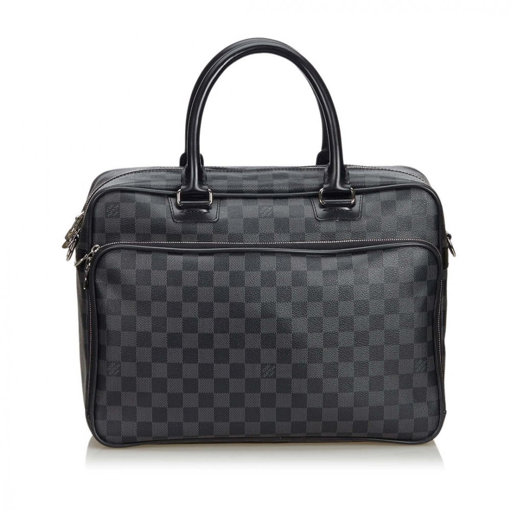 69e8d13b0b9 Louis Vuitton - Damier Graphite Icare Laptop Bag : MyPrivateDressing. Buy  and sell vintage and second hand designer fashion and watches. Free  listing. ...
