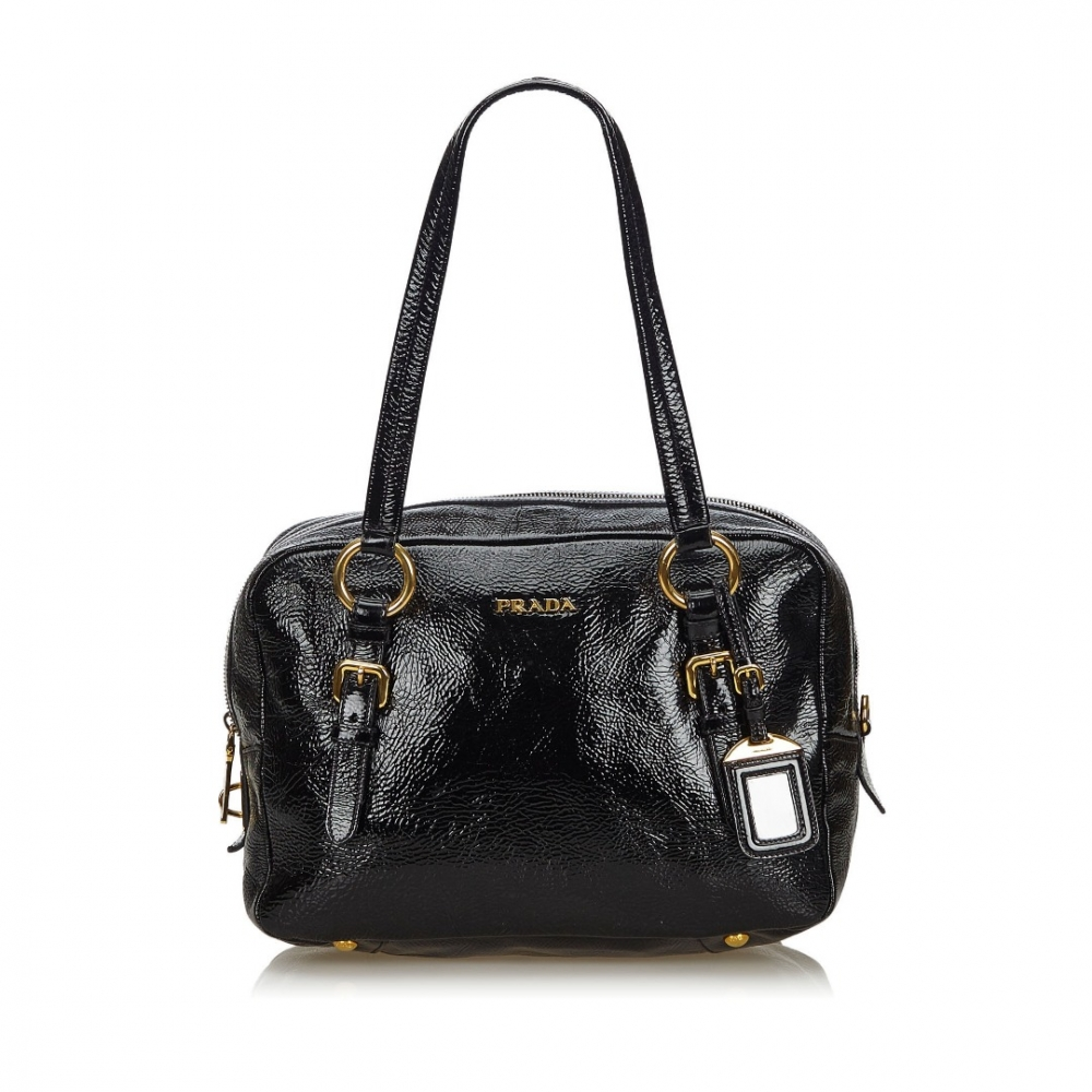 c3b533aa Prada - Patent Leather Shoulder Bag : MyPrivateDressing. Buy and sell  vintage and second hand designer fashion and watches. Free listing.  Authenticity ...