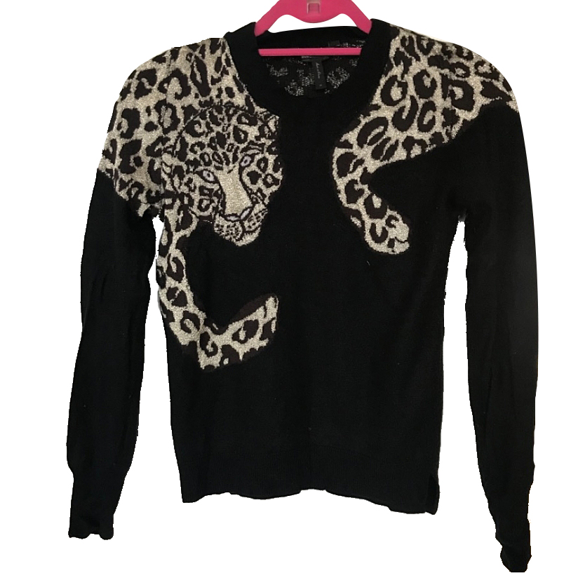 BCBG Max Azria Tiger sweater