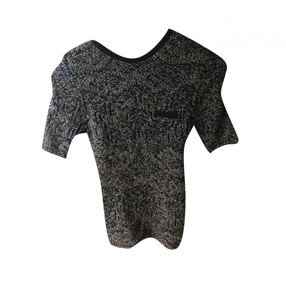 Maje stic Sequin T Shirt