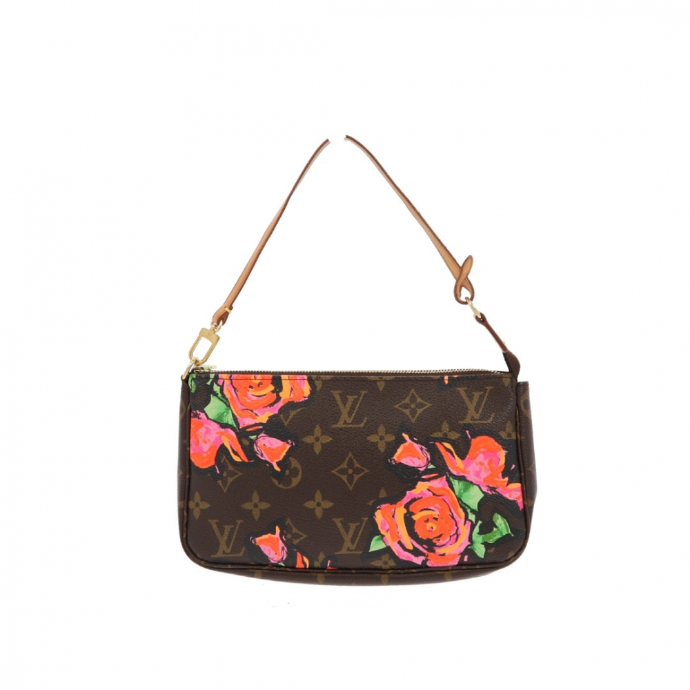 Louis Vuitton x Stephen Sprouse Limited Edition Roses Pochette Accessoires Monogram